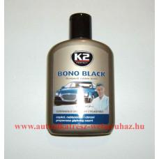 K2 bono black feketítő müanyag ápoló