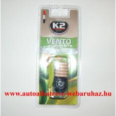 Illatosító, K2, Vento, Spicy citrus, fakupakos, folyadékos
