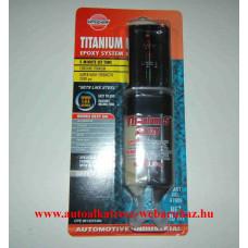 Titanium epoxy 5 perces két komponensű fém ragasztó