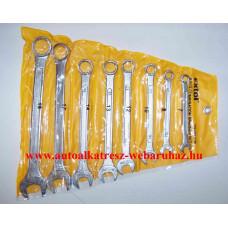 Csillag-villás kulcs készlet 8 db-os, 7-19, extol 6319b