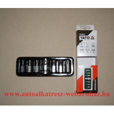 Torx bit készlet 1/2, yato-0410