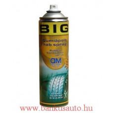 Bigman gumiápoló hab spray 500ml