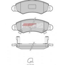 Fékbetét garnitúra, Suzuki Ignis II, első 55810-84e00