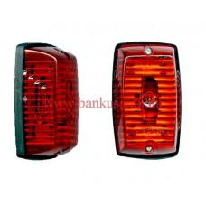 Helyzetjelző lámpa piros