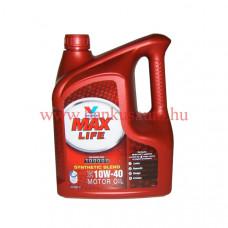 Valvoline max life 10w-40 félszintetikus motorolaj /4 literes/